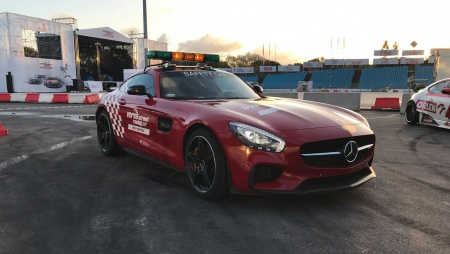 Mercedes AMG GT S - oficjalny Safety Car Verva Street Racing 2017